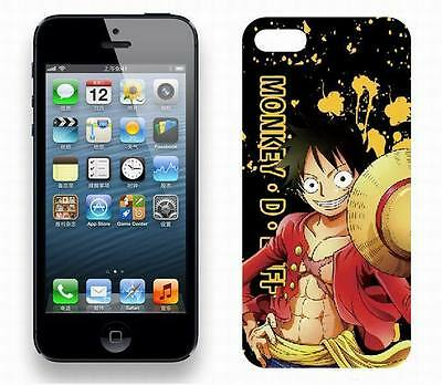 #PHO033 - One Piece - Hülle Schutzhülle Cover - IPhone 5 - Monkey D. Ruffy