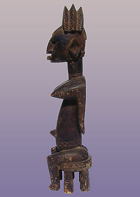 "African Bambara/ Bamana Female Figure Segu style From Mali 25"" Tall"
