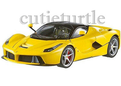 hot wheels elite ferrari laferrari 2014 new enzo 118 limited bct81 yellow - Ferrari 2014 Yellow