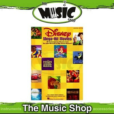 New Disney Mega-Hit Movies Music Book for Easy Piano - 2nd Edition