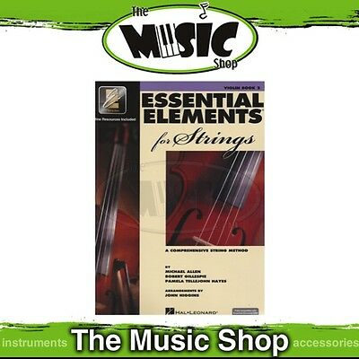 New Essential Elements for Strings Violin Book 2 - Book with Online Audio