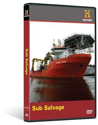 NEW Mega Movers: Sub Salvage (DVD, 2009) Submarine The History Channel - Sealed