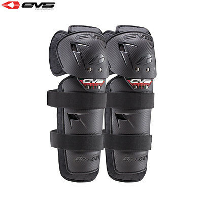 Evs Option Knee Pads Guards Motocross Enduro Adult Universal Black