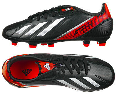 f656fcf7f06 Boys F50 Adidas F10 TRX FG Moulded Traxion Stud Football Boots New and Boxed