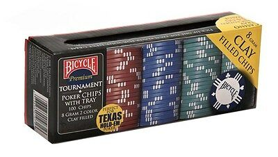 Bicycle Poker Chips (100 Pack) playing cards