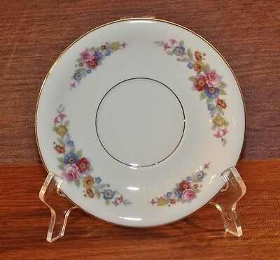 "KPM Royal Ivory Germany ROI4 pattern 6-1/2"" Cream Soup Saucer/Underplate"