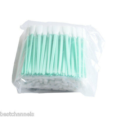 100pcs Cleaning Swabs for Epson / Roland / Mimaki Solvent Resistant Printers