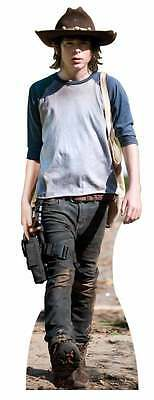 Carl Grimes The Walking Dead Cardboard Cutout Stand Up Standee Zombie Action!