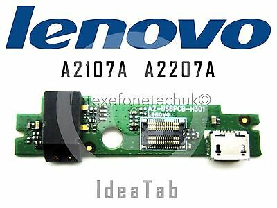 GENUINE Micro USB / Audio DC Charge Board PCB for Lenovo IdeaTab A2107A A2207A