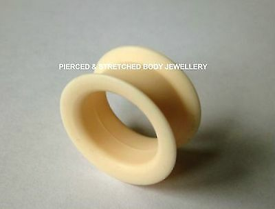 ONE 20mm SOFT Silicone FLESH Coloured Tunnel - Tunnels & Plugs