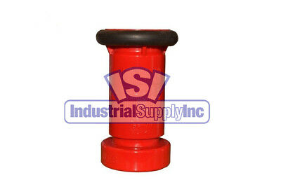 """1-1/2"""" NST Adjustable Fire Hose Nozzle Polycarbonate w/Bumper made in USA"""