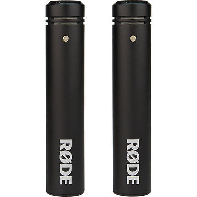 "Rode M5 Compact 1/2"" Condenser Microphone (Matched Pair) M5-MP"