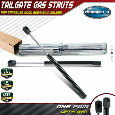 Set of 2 Tailgate Boot Gas Struts for Chrysler 300C 2005-2010 293MM Lifters
