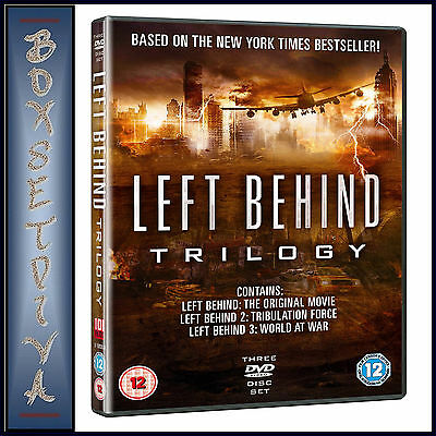 Left Behind - Complete Trilogy *brand New Dvd Boxset ***