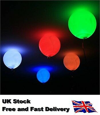 LED Light Balloon Party Wedding Baloons Decorations Pack 5