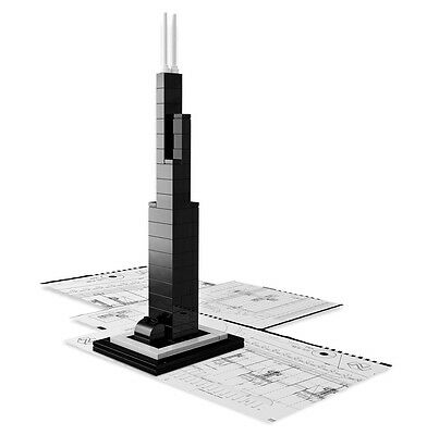 LEGO ARCHITECTURE 21000 WILLIS TOWER ( EX SEARS )