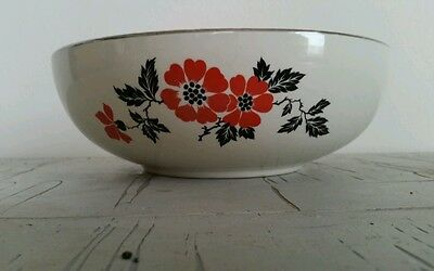 Hall Red Poppy serving dish