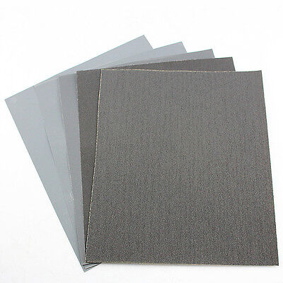 3.5 inch *9 inch Wet & Dry SANDPAPER 80 to 7000 GRIT, ABRASIVE Sanding Paper