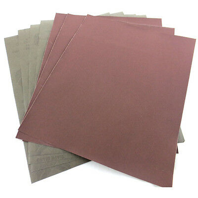 3.5 inch *9 inch Wet and Dry Emery Sandpaper Sheets Mixed Grit Sand Paper