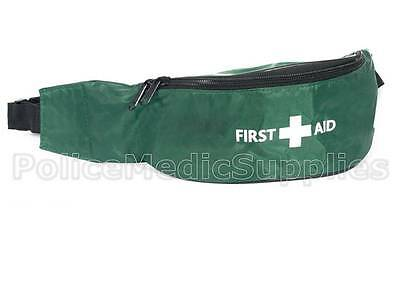 Green First Aid Bum Bag for Sports St John Medic Doctor First Aid Aider Schools