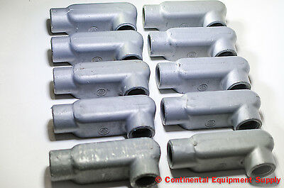"Lot of 10 Appleton Electric Unilet 1"" LR Form 35 - FREE SHIPPING!"