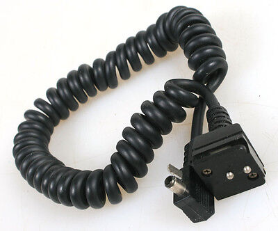 Olympus Ttl Coiled Auto Cord For Flash Shoe 2