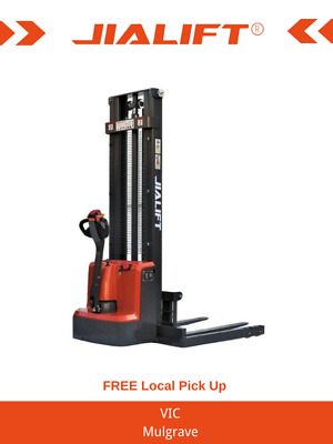 Brand New 1T Straddle Leg Full Electric Stacker/Lifter Lifting 3000mm