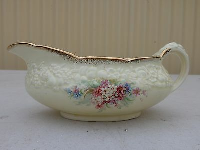 Crown Ducal Florentine English Gravy boat Picardy LOTS MORE AVAIL