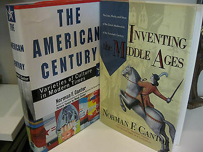 NORMAN F. CANTOR The American Century - Inventing the Middle Ages 1st/1st Lot