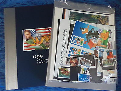 (2) United States Postal Service 1999 Commemorative Stamp Yearbook -