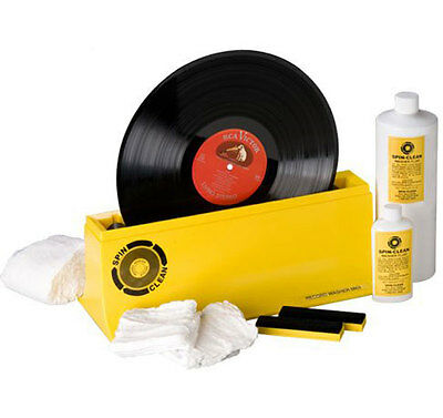 Spin-Clean Record Washer System MKII MK2 Vinyl Cleaning Washing Set Package