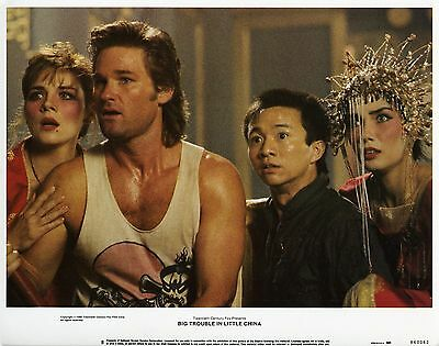 Grosso Guaio A Chinatown Big Trouble In Little China Fotobusta Carpenter Russell