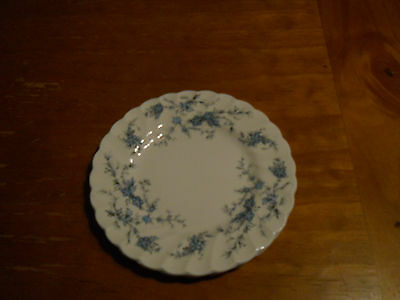 "Myott ""Forget-Me-Not"" Bread & Butter Plates (4)"
