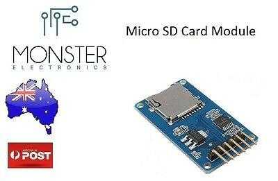 Micro SD Card Shield Module (Arduino) AU Stock Fast Delivery