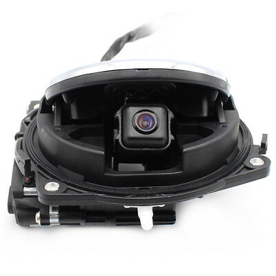 Volkswagen Rotating Rearview Camera VW CC Golf MK6 logo Flipping Backup RGB park