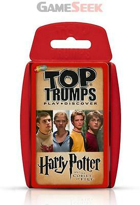 Top Trumps Harry Potter And The Goblet Of Fire - Toys Brand New Free Delivery