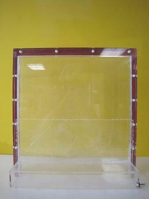 SLAB GEL ELECTROPHORESIS UNIT? In good working condition  Used Clear Color