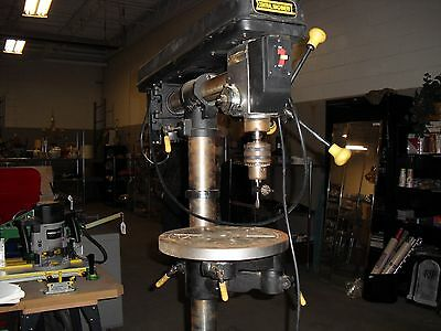 Radial Arm Drill Press By Central Machinery.