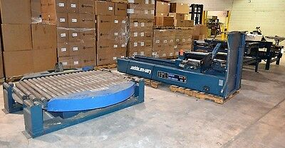 1995 Lantech Model: SVAMD Lan-wrapper Automatic Pallet Stretch Wrapper