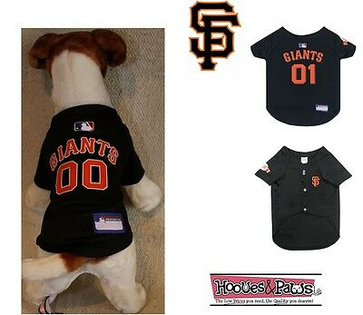 super popular 02596 f068d DOG FAN GEAR MLB San Francisco Giants Jersey Shirt Tank Pet Puppy Licensed