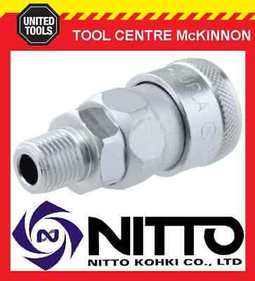 """Genuine Nitto Female Coupling Air Fitting With 1/4"""" Male Thread (20Sm) – Japan"""
