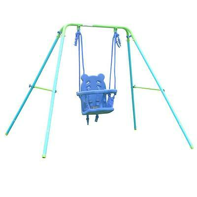Folding Toddler String Garden Play Baby Swing With Safety Seat For Baby's Gift