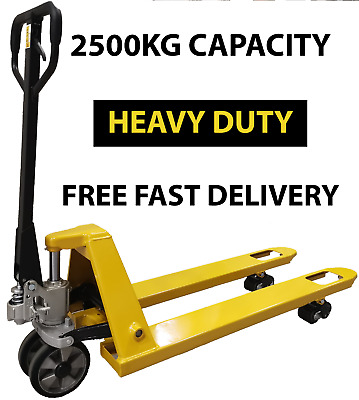 NEW, 2500kg EURO Hand Pallet Truck £220.80 Inc.VAT and Delivery, Fully Assembled