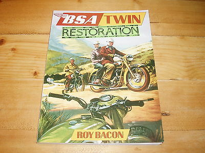 Book - BSA Twin Restoration by Roy Bacon