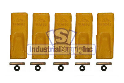 5-pk 1U3302 Caterpillar Style Bucket Digging Teeth