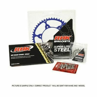 Yamaha WR250F 2001 - 2017 13/52 RHK MX Chain Steel Sprocket Kit