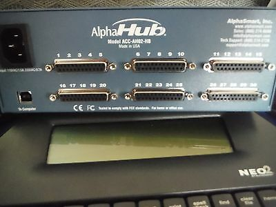 AlphaSmart HUB   NEO2 Hub, Cabling does not include neo2 word processors