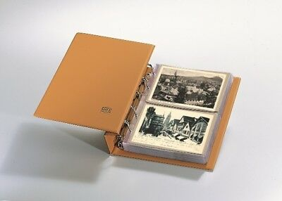Postcard Albums-Compact Tan Luxus Package for Vintage Postcards