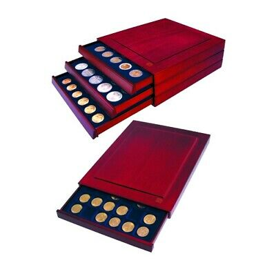 Coin Case for Jefferson & Buffalo Nickels-Nova Exquisite Drawer w/48 Compartment
