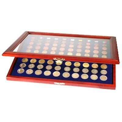 Coin Display Case for 70 Quarters